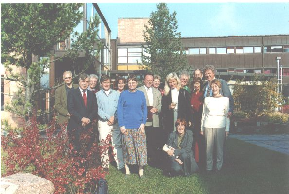 Occupational health specialists at the IFOH conference, Oslo, Sept 2000